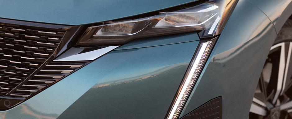 Peugeot vrea sa te faca sa uiti complet de noul Golf 8 si lanseaza o noua versiune a proaspat lansatului 308. Galerie foto completa