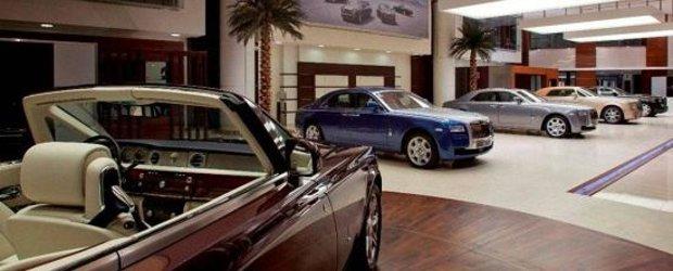 Piata auto din Romania scade, segmentul premium creste