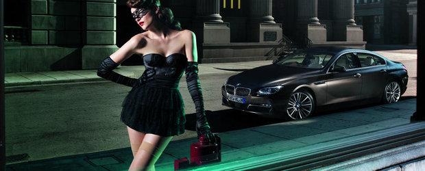 Pictorial extravagant alaturi de un BMW Seria 6 Gran Coupe si doua prezente feminine