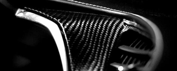 Piele, scaune, carbon. Noul Chevrolet Corvette C7 ne dezvaluie interiorul sau