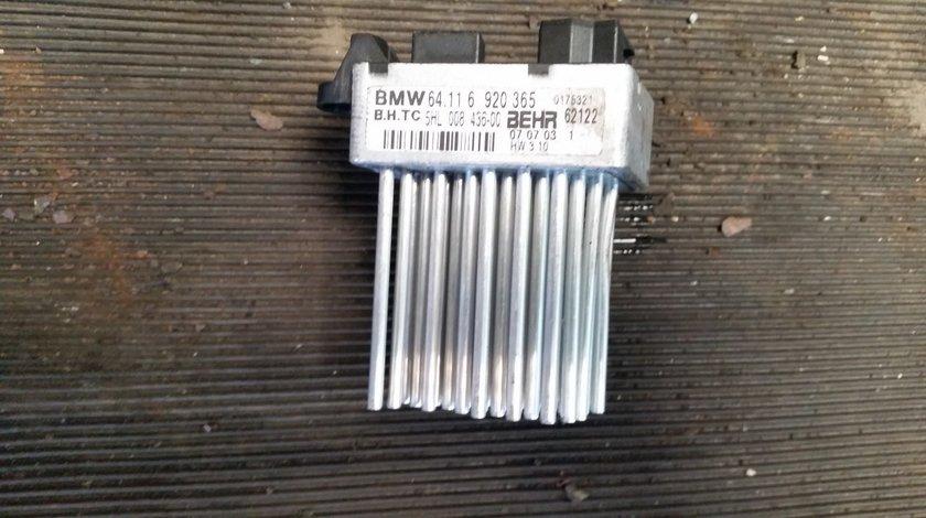 Piesa cu tepi (rezistenta aeroterma) BMW E46 2002