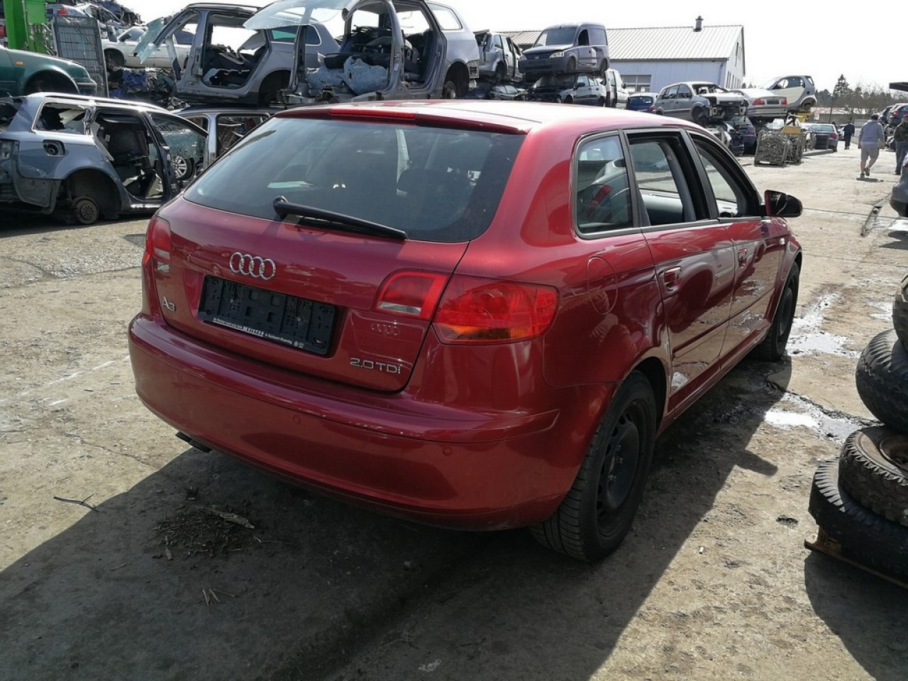 Piese second-hand pentru Audi A3 8P sportback