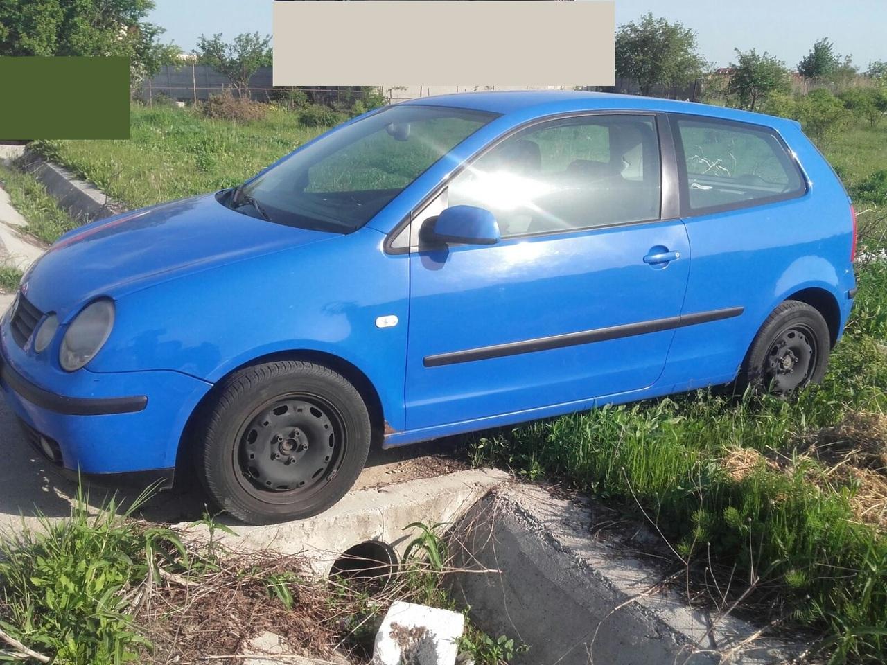 Piese volkswagen polo 1400 diesel an 2004 albastru in 2 usi
