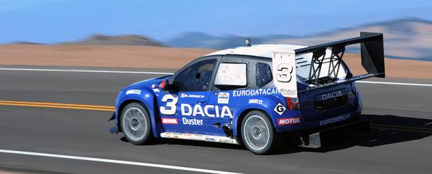 Pikes Peak 2011 - Dacia Duster este in carti, dupa al doilea antrenament oficial!
