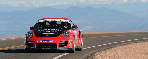 Pikes Peak 2011: Jeff Zwart si Porsche 911 GT2 RS stabilesc un nou record pentru o masina street legal