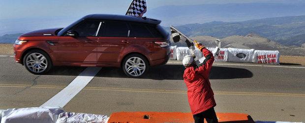 Pikes Peak 2013: Range Rover Sport stabileste recordul absolut pentru SUV-uri