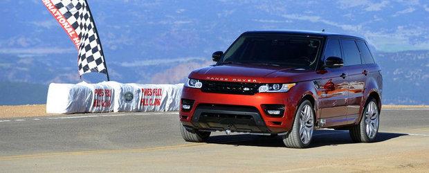 Pikes Peak 2013: Range Rover Sport stabileste recordul absolut pentru SUV-uri. UPDATE VIDEO!