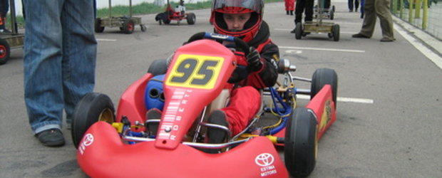 Pilot de karting la 9 ani, demonstratii la 4TuningDAYS!