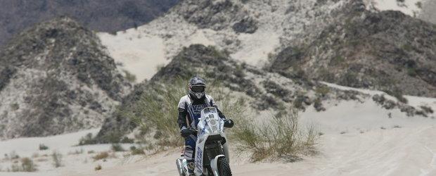 Pilotii romani de la Dakar au trecut de la -3 grade la +41 de grade Celsius!