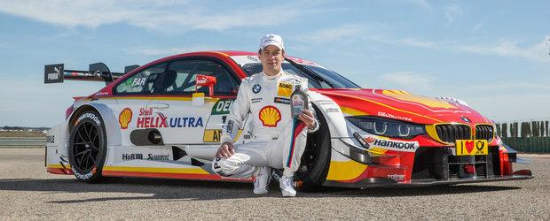 Pilotul BMW, Augusto Farfus, testeaza in DTM uleiurile SHELL Helix Ultra