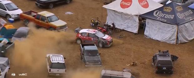 Pilotul de raliuri care desi s-a pierdut in parcare, a castigat intr-un final cursa