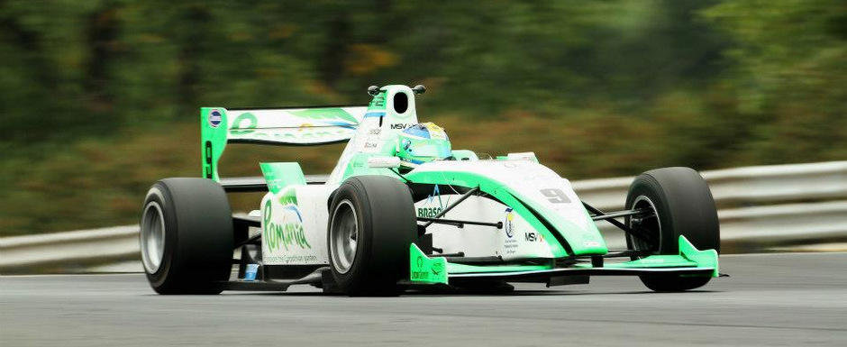 Pilotul Mihai Marinescu participa la Formula Renault 3.5