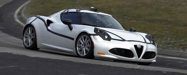 Pirelli a dezvoltat un set de anvelope speciale pentru Alfa Romeo 4C