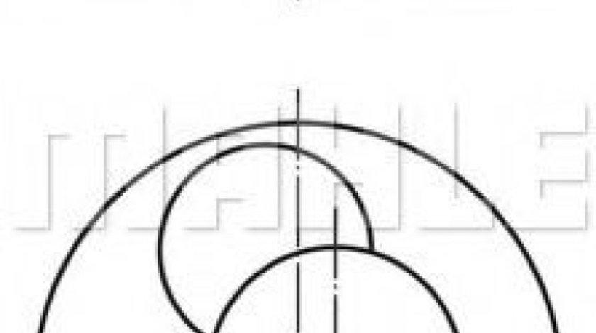 Piston AUDI A6 (4B2, C5) (1997 - 2005) MAHLE ORIGINAL 030 86 00 piesa NOUA