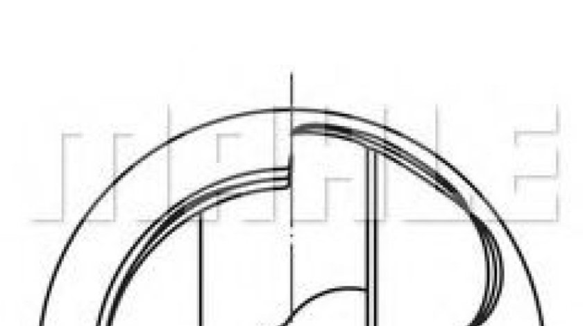 Piston AUDI A8 (4H) (2009 - 2016) MAHLE ORIGINAL 028 PI 00124 000 piesa NOUA