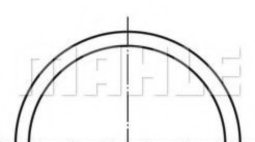 Piston CITROEN BERLINGO caroserie (M) (1996 - 2016) MAHLE ORIGINAL 040 04 00 produs NOU