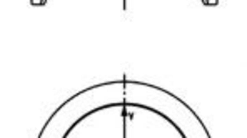 Piston CITROEN BERLINGO caroserie (M) (1996 - 2016) KOLBENSCHMIDT 40161600 produs NOU