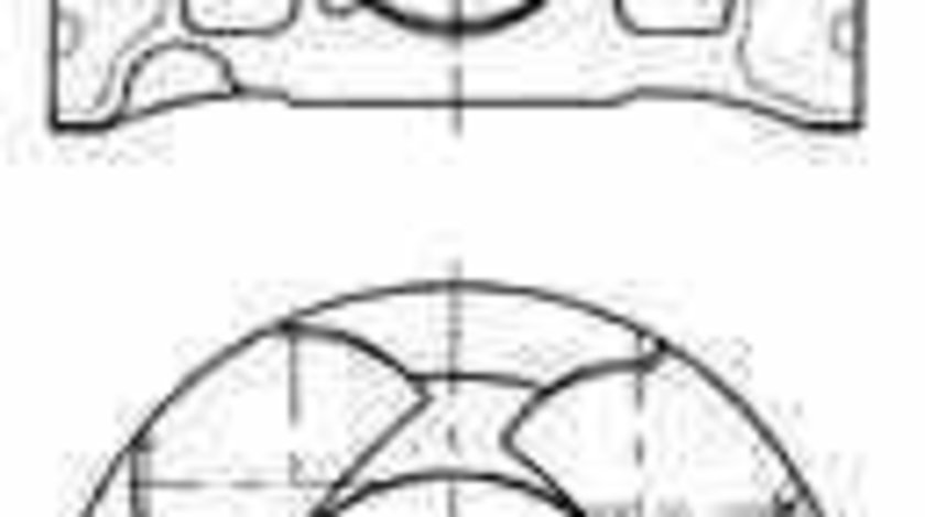 Piston FIAT DOBLO caroserie inchisa/combi 263 KOLBENSCHMIDT 41070600