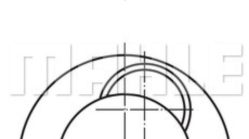 Piston MAN HOCL Producator MAHLE ORIGINAL 227 37 00