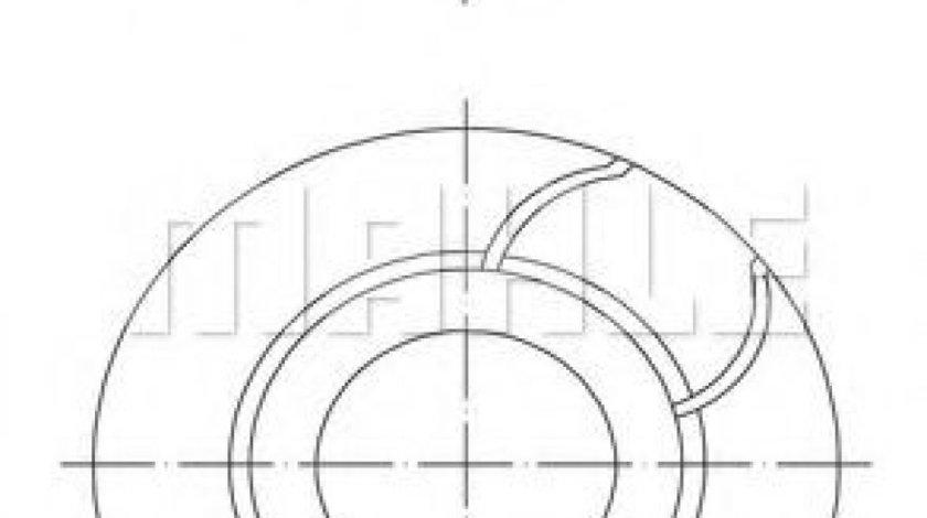 Piston MAZDA 2 (DY) (2003 - 2016) MAHLE ORIGINAL 040 03 00 - produs NOU