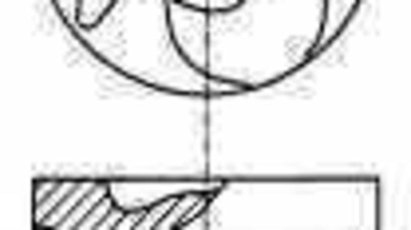 Piston MERCEDES-BENZ KOMBI Break S123 NÜRAL 87-176700-00
