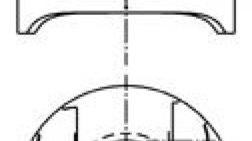 Piston MERCEDES SPRINTER 3,5-t platou / sasiu (906) (2006 - 2016) KOLBENSCHMIDT 97482600 produs NOU