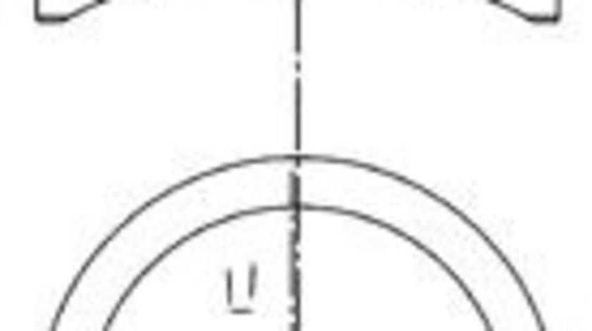Piston OPEL ASTRA F Combi (51, 52) (1991 - 1998) KOLBENSCHMIDT 97286620 produs NOU