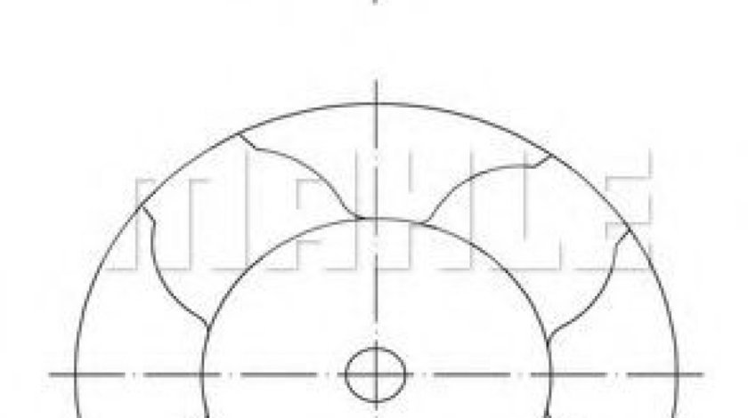 Piston OPEL ASTRA H GTC (L08) (2005 - 2016) MAHLE ORIGINAL 010 16 01 produs NOU