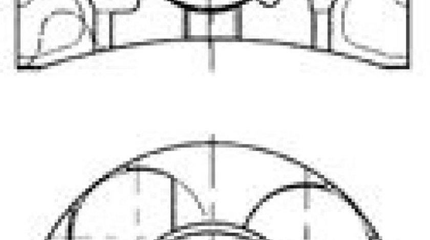 Piston OPEL ASTRA H (L48) (2004 - 2016) KOLBENSCHMIDT 41071600 - produs NOU