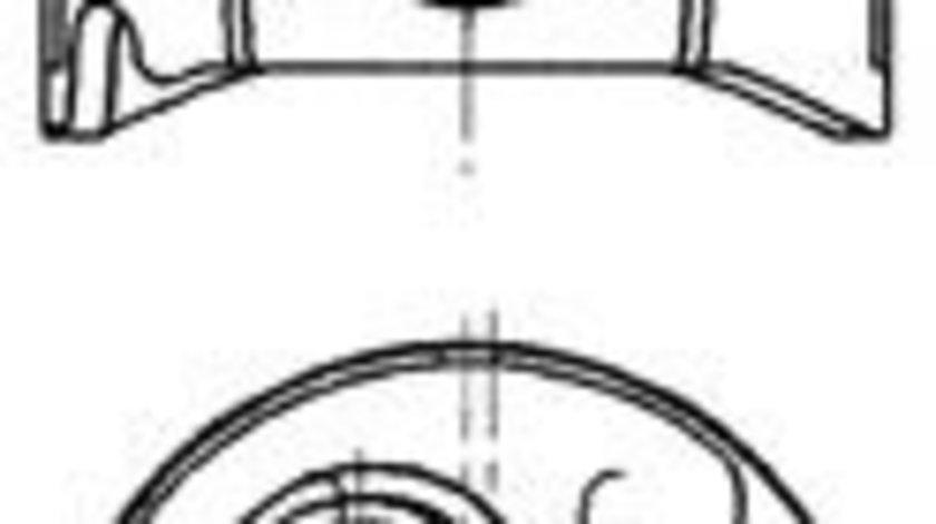 Piston PEUGEOT BOXER caroserie (230L) (1994 - 2002) KOLBENSCHMIDT 91313710 produs NOU