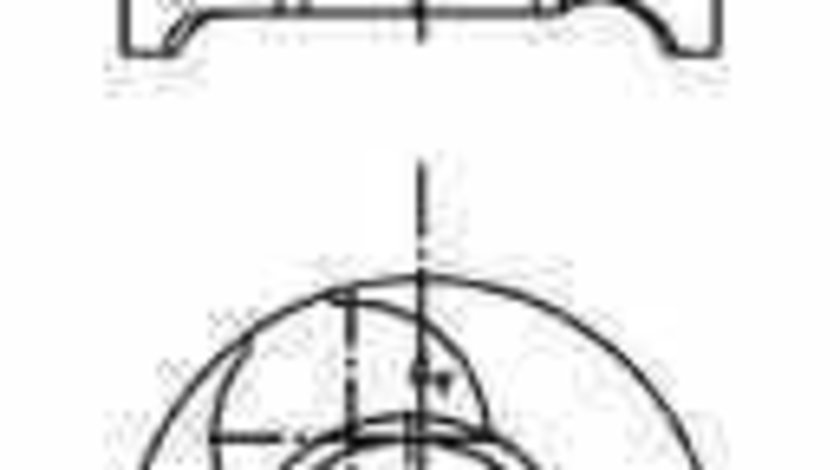 Piston RENAULT KANGOO KC0/1 KOLBENSCHMIDT 40465600