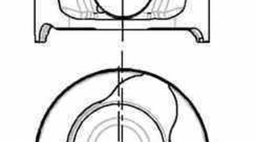 Piston RENAULT KANGOO KC0/1 NÜRAL 87-123407-10