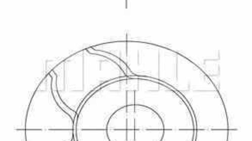 Piston RENAULT LAGUNA II BG0/1 MAHLE ORIGINAL 021 58 02