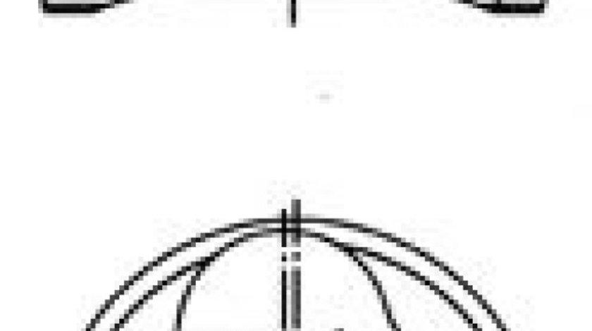Piston SEAT ALTEA XL (5P5, 5P8) (2006 - 2016) KOLBENSCHMIDT 40409610 - produs NOU