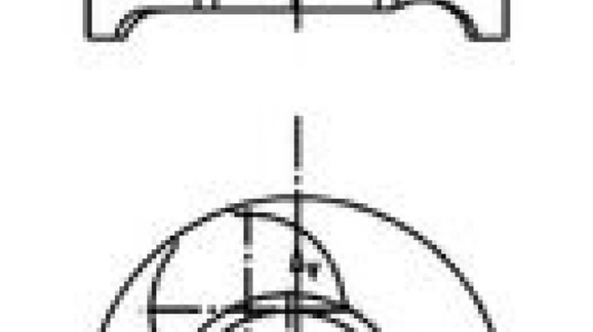 Piston SUZUKI JIMNY (FJ) (1998 - 2016) KOLBENSCHMIDT 40465600 - produs NOU