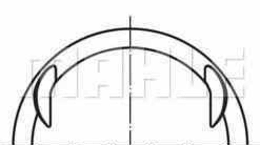 Piston VAUXHALL ASTRA Mk V H combi MAHLE ORIGINAL 012 19 00