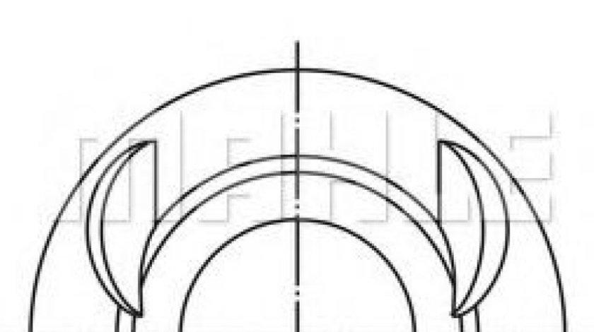 Piston VW GOLF IV (1J1) (1997 - 2005) MAHLE ORIGINAL 028 03 12 piesa NOUA
