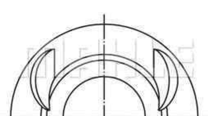 Piston VW GOLF IV (1J1) MAHLE ORIGINAL 028 03 00