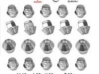 Piulite M12 x 1,25  Suzuki Nissan Subaru pt Jante Aliaj/tabla