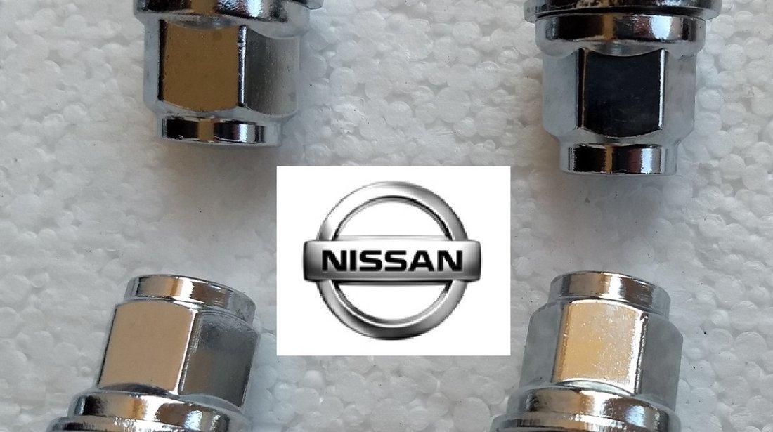 Piulite Nissan cu saiba plata si Guler M12 x 1,25 -jante Originale