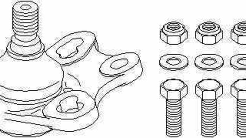 Pivot Articulatie sarcina ghidare MERCEDES-BENZ B-CLASS W245 TOPRAN 401 360