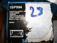 PLACUTE FRANA FATA FORD TRANSIT AN 2000-2006, COD SAMKO 5SP994