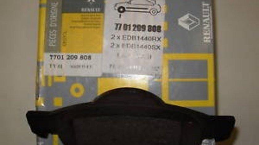 Placute frana fata Renault Laguna 2, Megane 1, Wind, Originale fara indicator uzura 7701209808 Kft Auto
