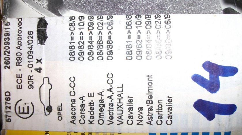 PLACUTE FRANA OPEL COD JURID 571276