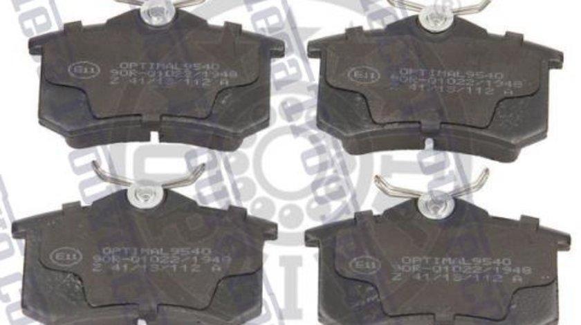 Placute frana spate Renault Clio 3, Fluence, Grand Scenic, Megane 3, Modus, Originale 440600295R Kft Auto