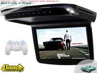PLAFONIERA AUTO CU MONITOR LCD 10,2'' ESD-1020HD DVD USB SD PLAYER INTRARE AUDIO/VIDEO AUX ! MONTAJ CALIFICAT IN TOATA TARA !
