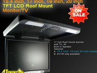 PLAFONIERA AUTO CU MONITOR LCD 16 '' USB SD PLAYER DIVX TV MODEL 2013