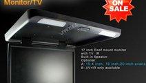 PLAFONIERA AUTO CU MONITOR LCD 16 '' USB SD PLAYER...