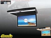 PLAFONIERA AUTO CU MONITOR LED 17,3 Inch REZOLUTIE FULL HD 1080P USB SD HDMI PLAYER INTRARE AUDIO VIDEO AUX MONTAJ CALIFICAT IN TOATA TARA