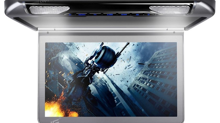 "PLAFONIERA AUTO CU MONITOR xtrons CM133HD 13.3"" LCD/TFT Transmițător IR 1 Intrare Video/Audio"